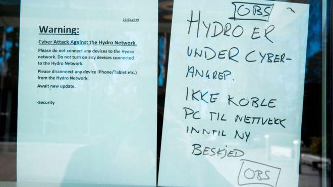 Hydro Aluminium Notice