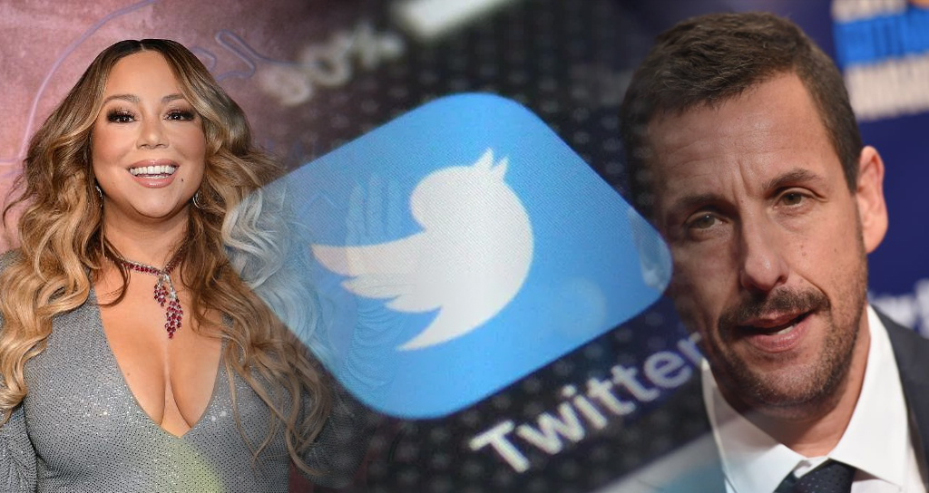 Adam Sandler and Mariah Carey Hacked Twitter