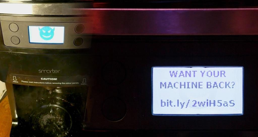 Coffee Machine Ransomware